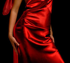 Silk-Satin-Superior-Crepe-Back-Fabric-Dress-45-momme-color-420